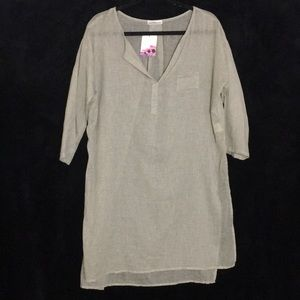 Dainty hooligan tan large cover up